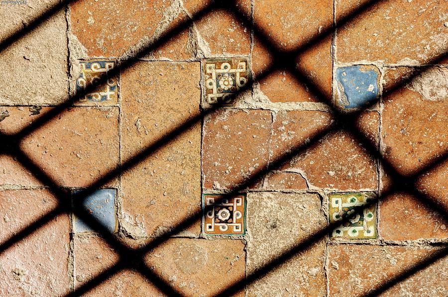 Alhambra Floor Tiles 01 by Weston Westmoreland