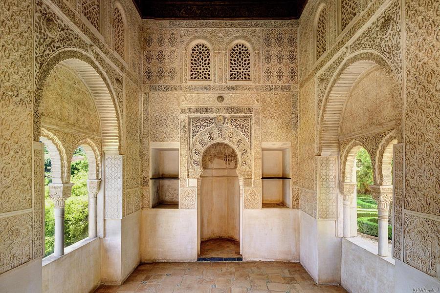 Alhambra Partal Chapel Medium by Weston Westmoreland