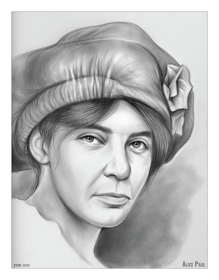Alice Stokes Paul Drawing