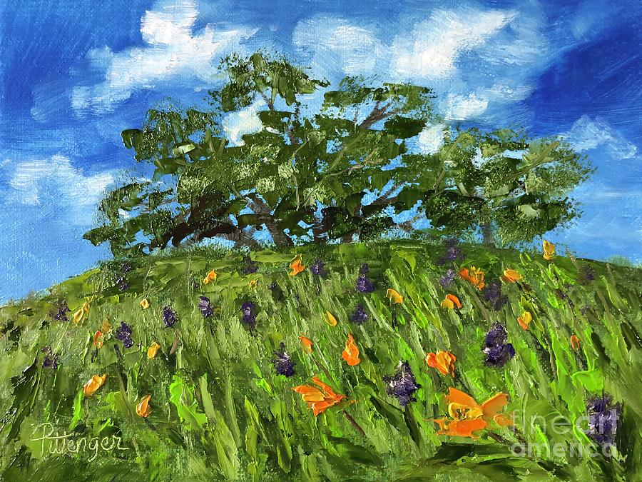 All About The Poppies Painting