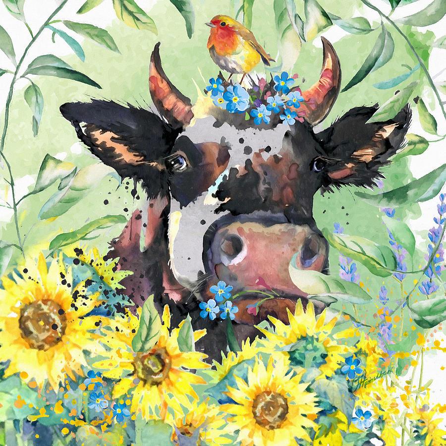 All Cows Are Beautiful by Olga Hamilton