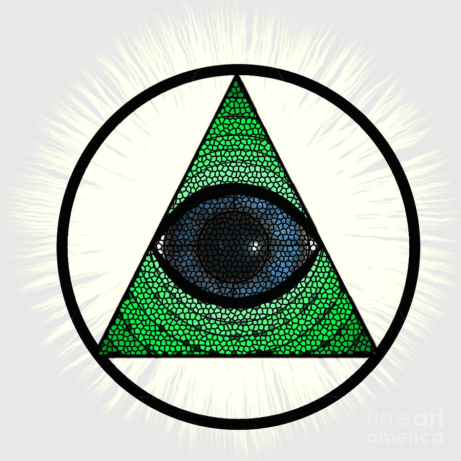All Seeing Eye by Priscilla Wolfe