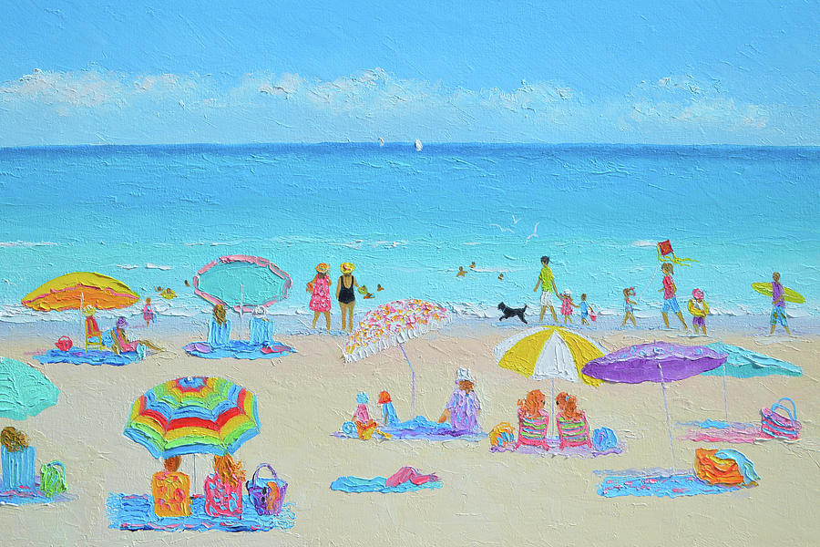 All You Need Is Love And The Beach Painting