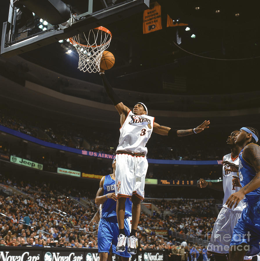 Allen Iverson Photograph by Nathaniel S. Butler
