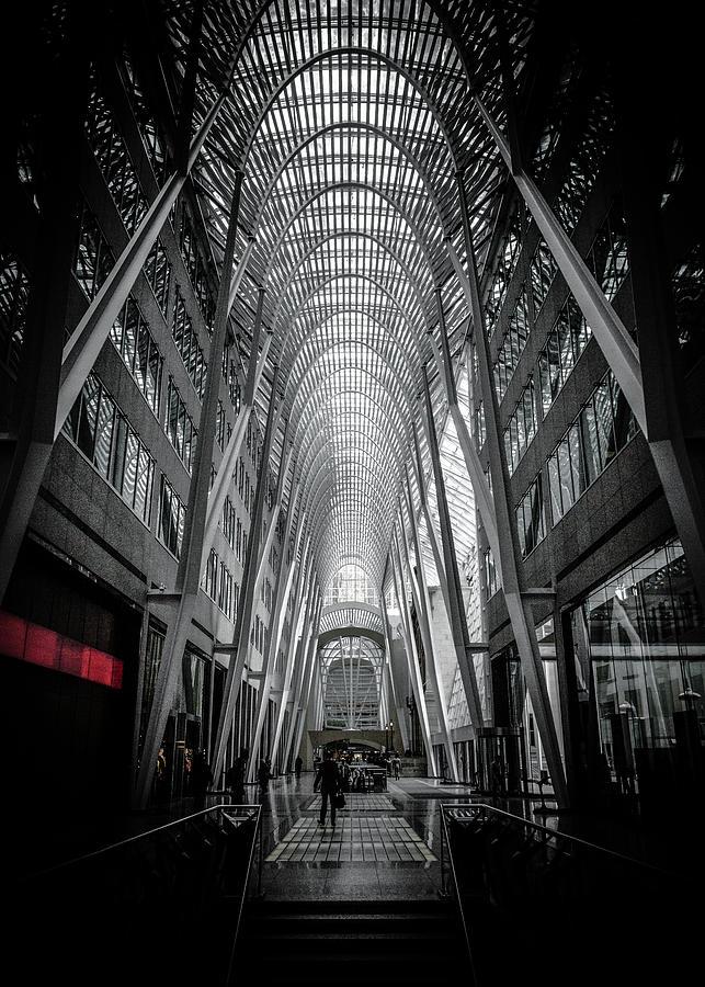 Allen Lambert Galleria Toronto Canada No 3 Color Version Photograph