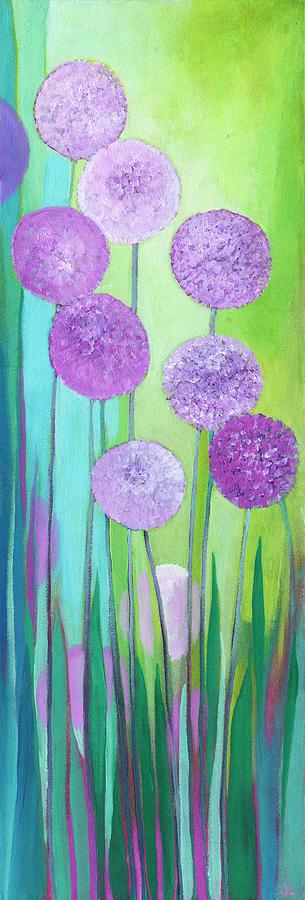 Alliums Painting