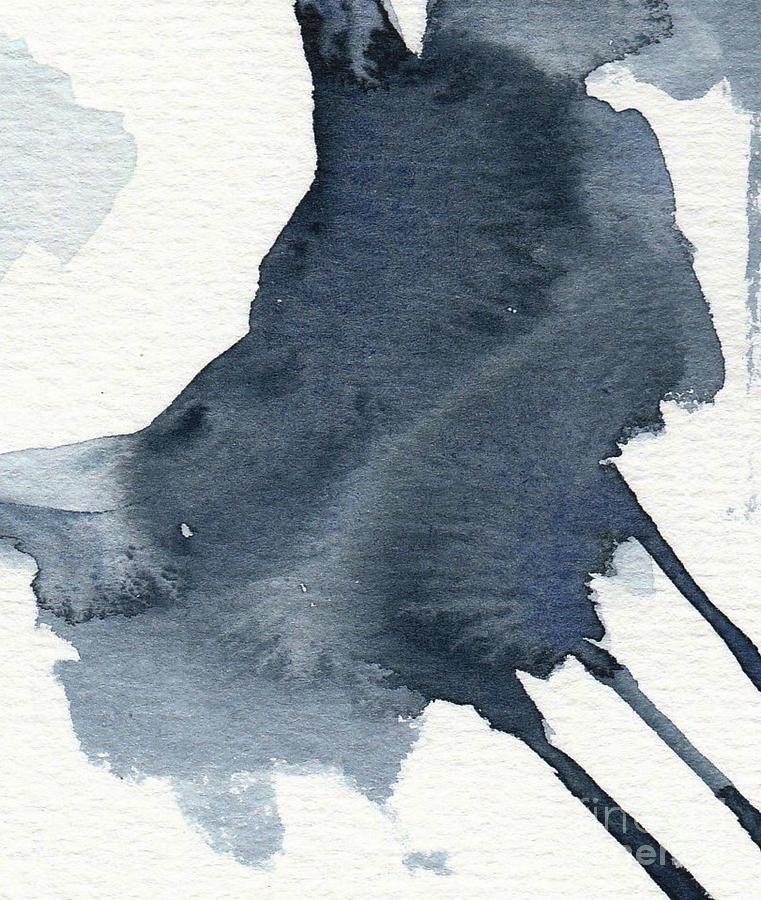 Allowing Indigo Painting