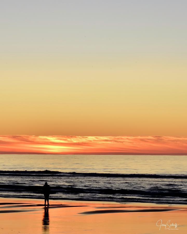 Alone With The Sunset by Jerry Sodorff