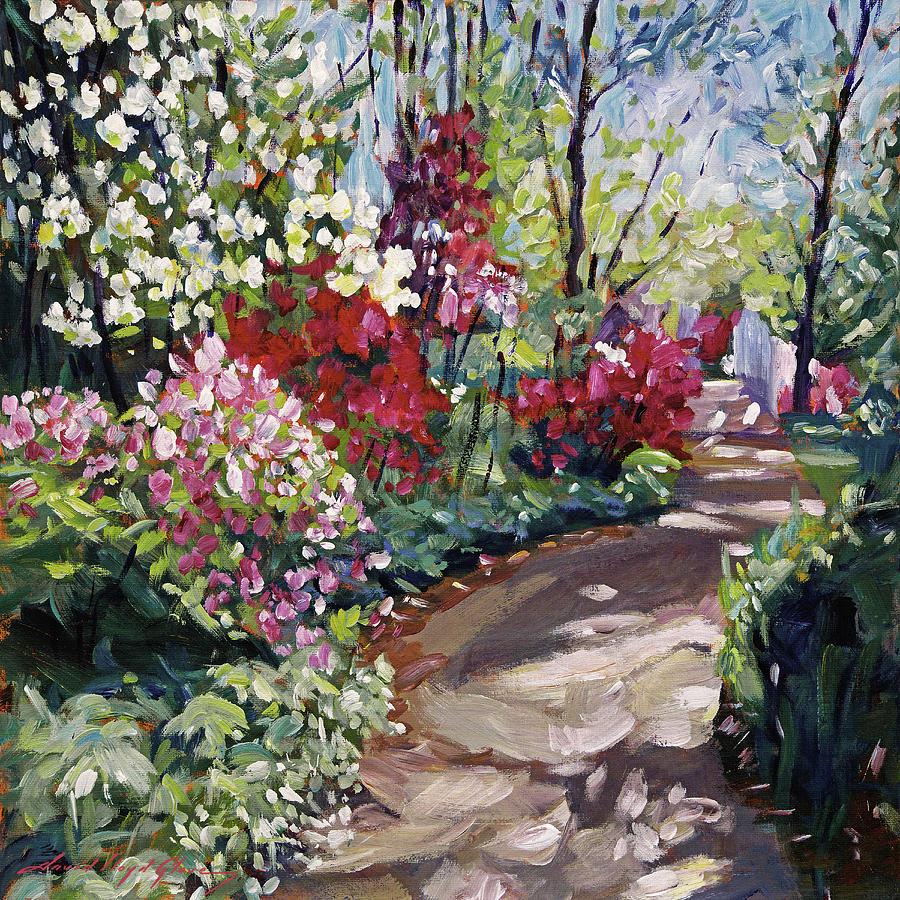 Along the Spring Path by David Lloyd Glover