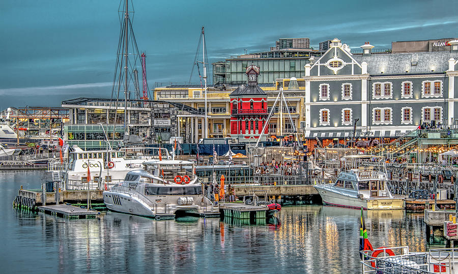 Along the Waterfront in Capetown by Marcy Wielfaert