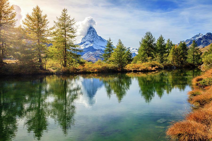 Alpine Pond Photograph