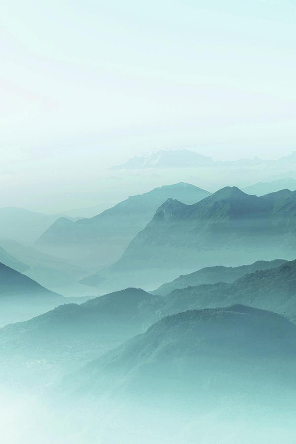 Alps, Italy - Surreal Art By Ahmet Asar Digital Art