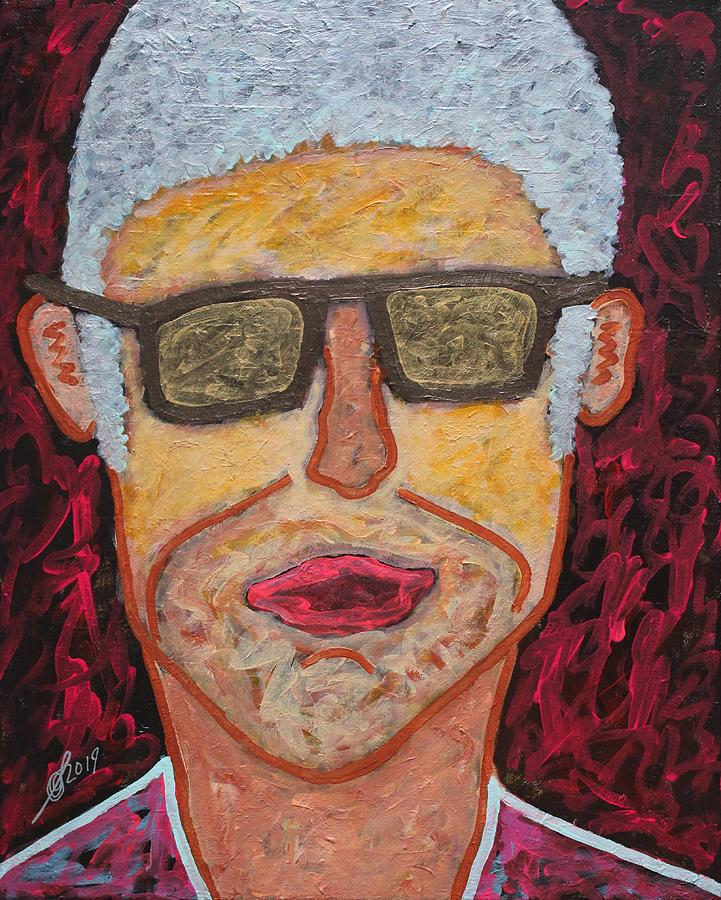 Alter Ego original painting by Sol Luckman