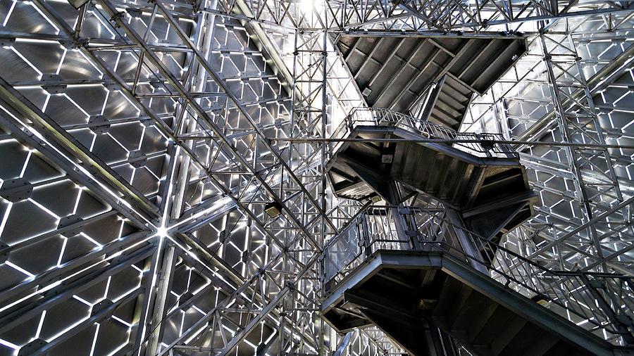 Aluminum -- Pyramid des Ha Ha in Saguenay, Quebec by Darin Volpe