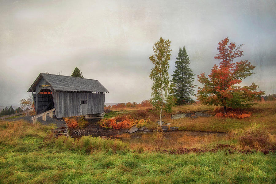 A.m Foster Covered Bridge Photograph