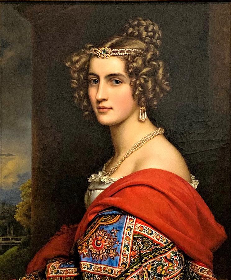 Amalie Von Schintling Painting