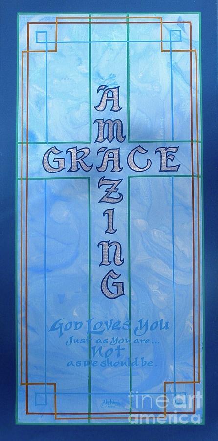 AMAZING GRACE BLUE by Alan Johnson