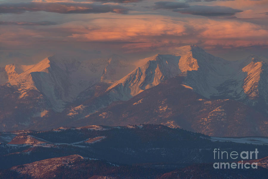 Amazing Stormy Sangre Sunrise Photograph