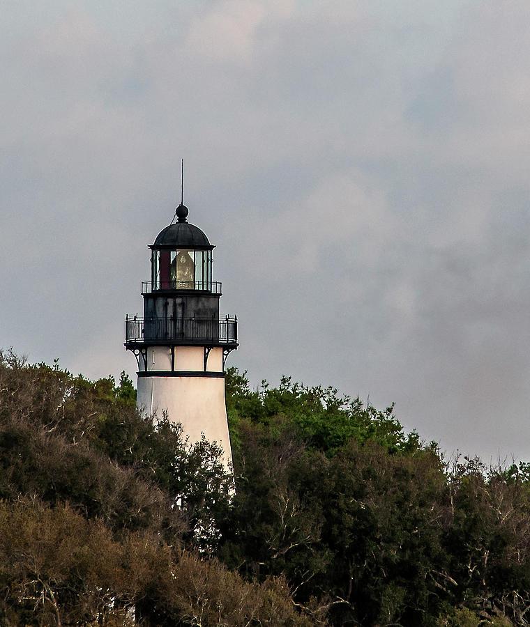 Amelia Island Lighthouse Photograph - Amelia Island Lighthouse by Norman Johnson