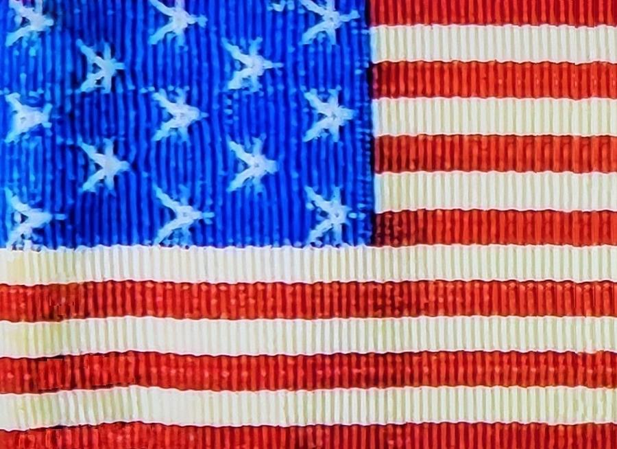AMERICAN FLAG RIBBON by Rob Hans