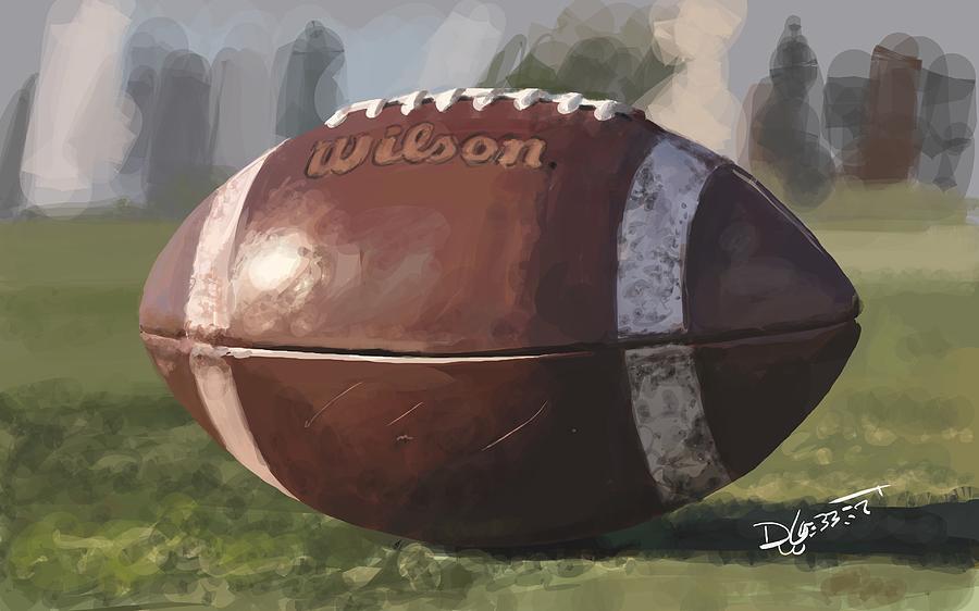 American Football Digital Art