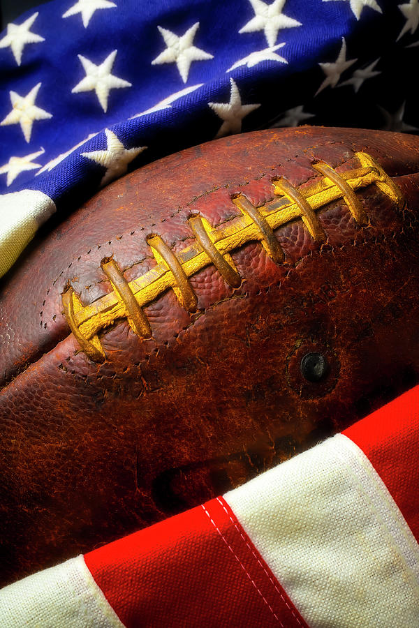 American Football Still Life by Garry Gay