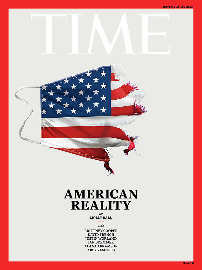 America Photograph - American Reality by Time