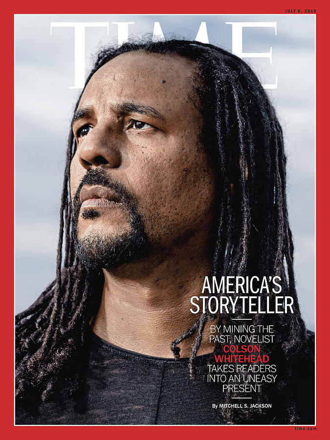 Colson Whitehead Photograph - Americas Storyteller by Photograph by Wayne Lawrence for TIME