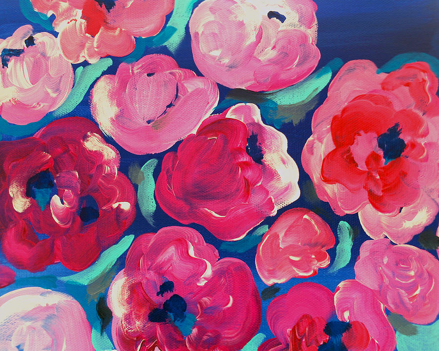 Magenta Painting - Amore by Beth Ann Scott