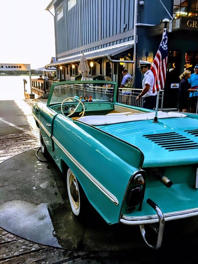 Amphicar Photograph - Amphicar Launch by Jeremy Edsall
