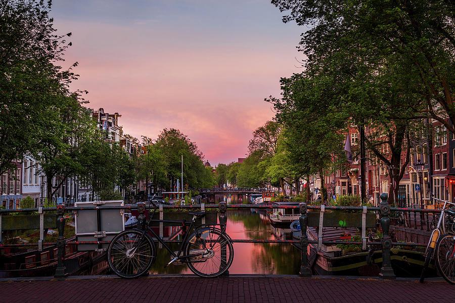 Amsterdam At Dawn Photograph