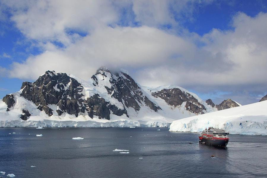 Amundsen At Orne Harbor Photograph
