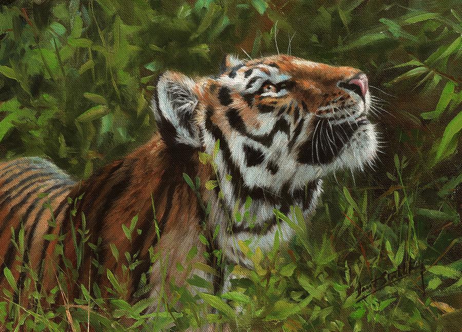 Amur Tiger 111 Painting