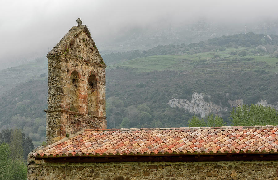 Asturias Photograph - An Old Hermitage In Asturias by Vicen Photography