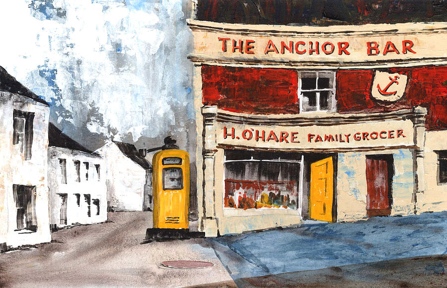 Anchor Bar, Carlingford. by Val Byrne