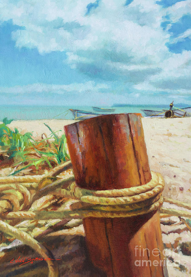Anchored by Colin Bootman