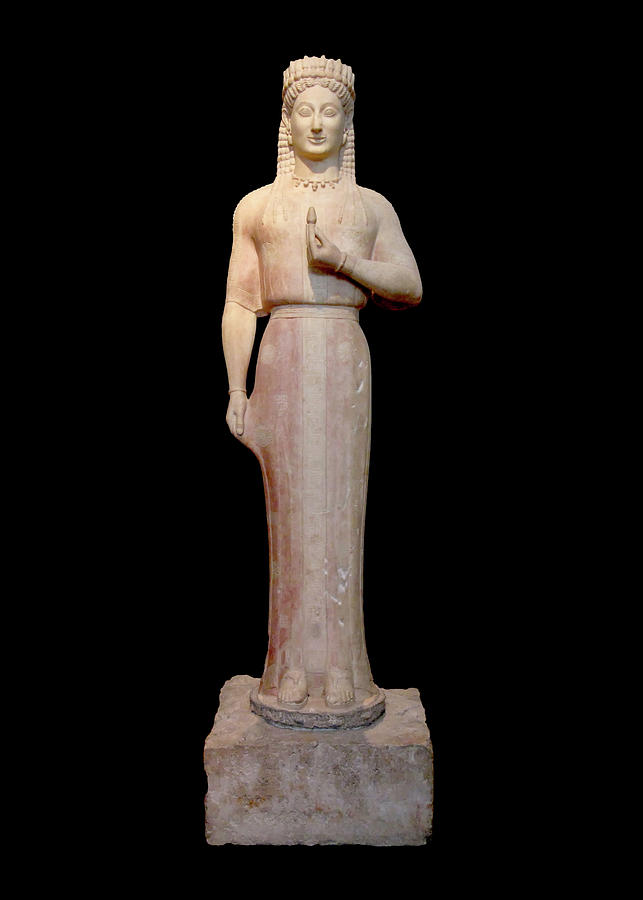 Ancient Greek Woman Photograph