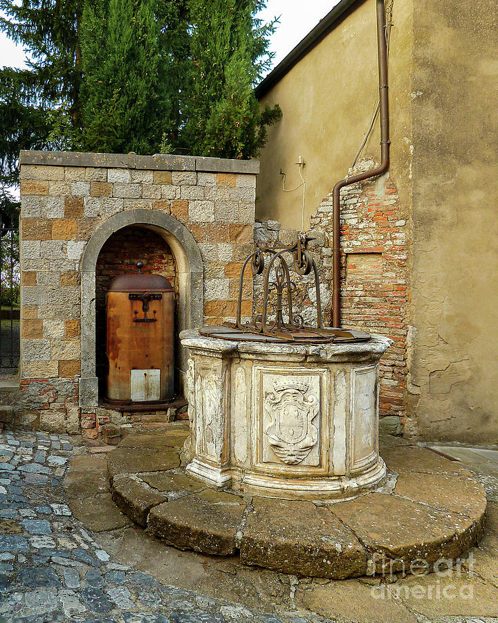 Ancient Montefollonico Well Photograph