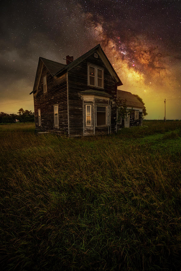 Dark Places Photograph - And All That Could Have Been by Aaron J Groen