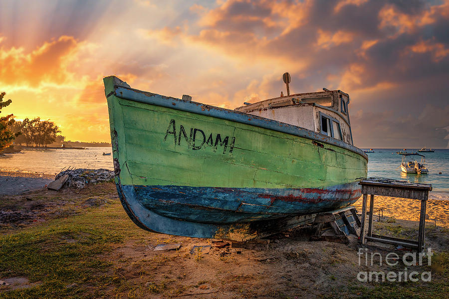 AndAmI At Sunrise by Hugh Walker