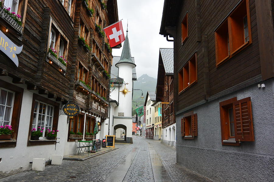 Andermatt Photograph - Andermatt, Switzerland by Two Small Potatoes