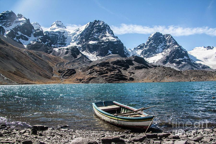 Andes Mountain Climbing Ice Peak Bolivia Trek Hiking Climb Gift Idea For Hiker Nature Lover Photograph By Latin America Focus