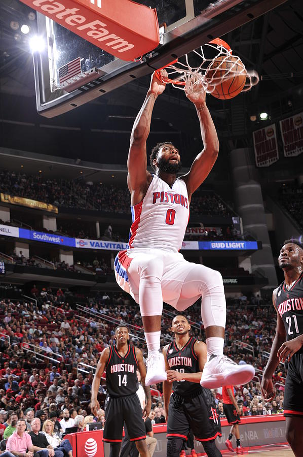 Andre Drummond Photograph by Bill Baptist