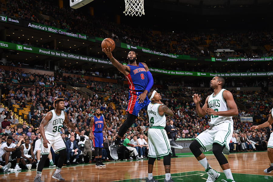 Andre Drummond Photograph by Brian Babineau