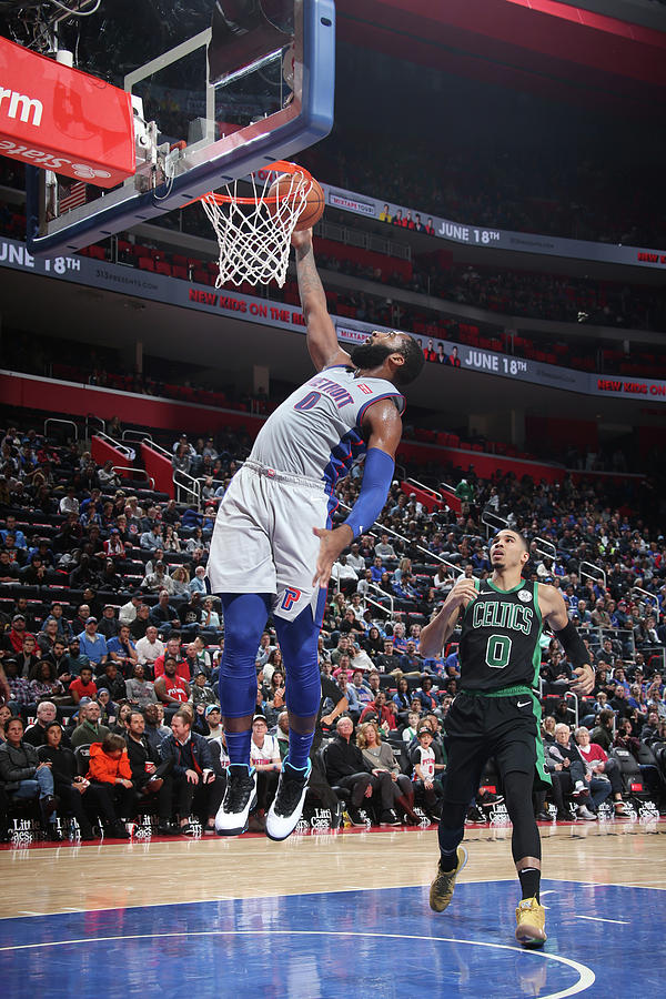 Andre Drummond Photograph by Brian Sevald