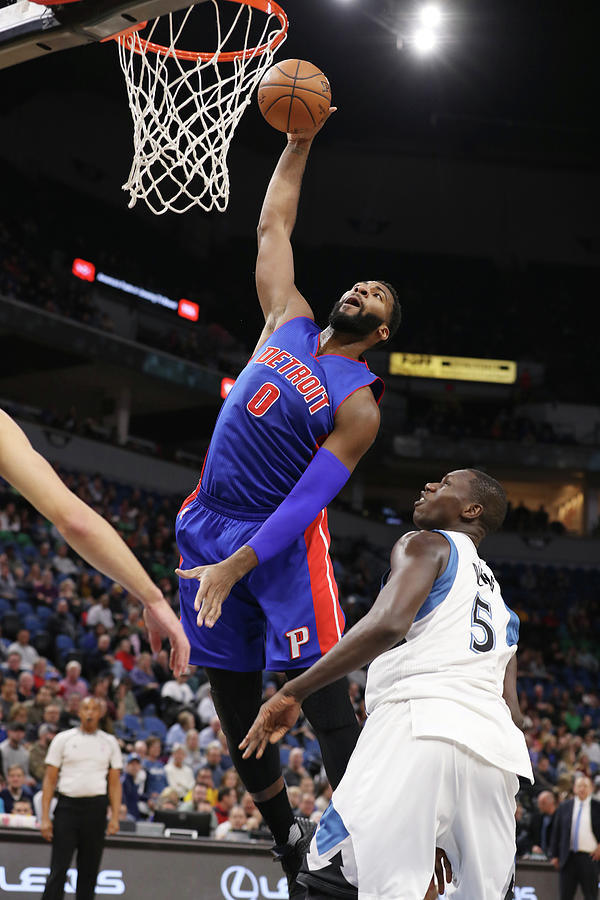 Andre Drummond Photograph by Jordan Johnson