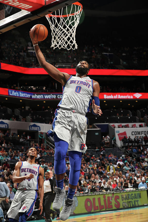 Andre Drummond Photograph by Kent Smith