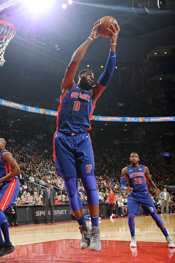 Andre Drummond Photograph by Ron Turenne