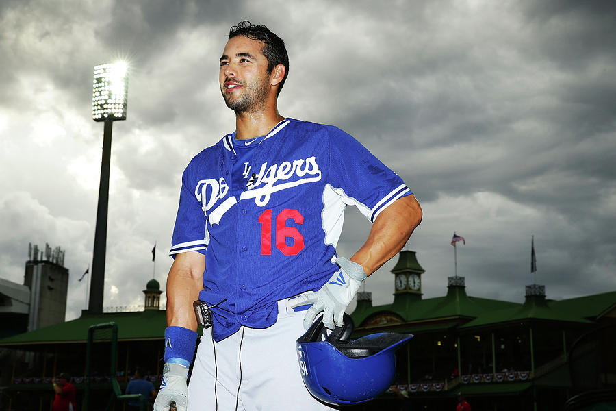 Andre Ethier Photograph by Matt King