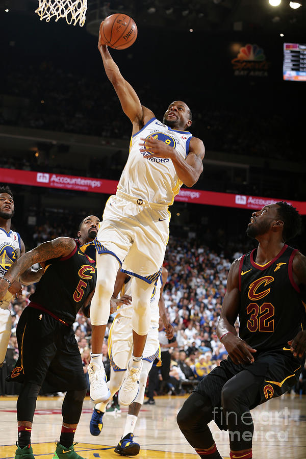 Andre Iguodala Photograph by David Sherman